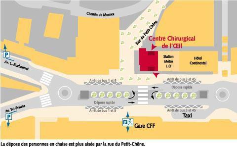 Centre Chirurgical de l'Oeil Lausanne