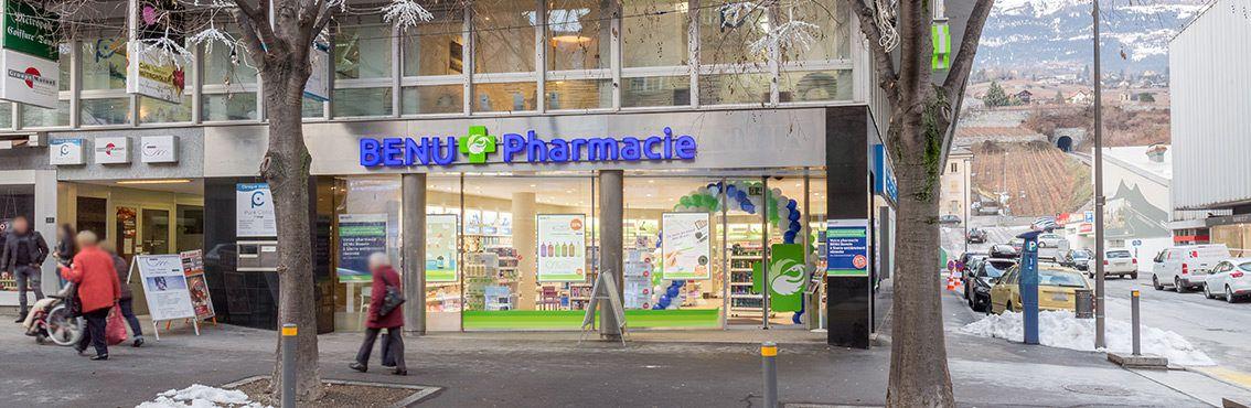 BENU Pharmacie Bonvin Sierre