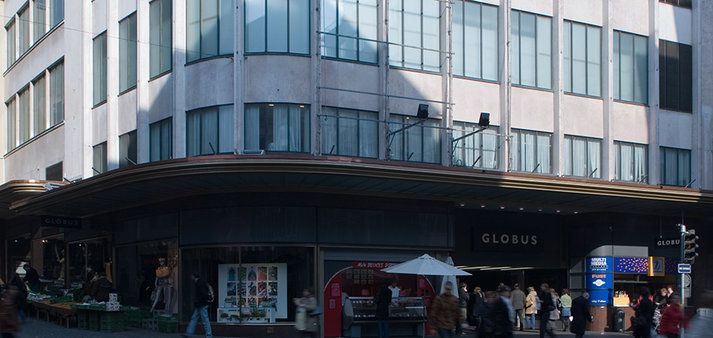 Globus Lausanne Grand magasin